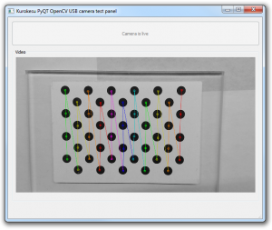 OpenCV USB camera widget in PyQT