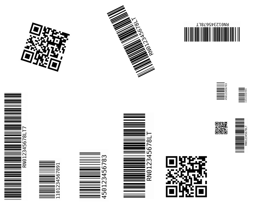 Unusual tasks with video files – reading bar-codes and qr-codes