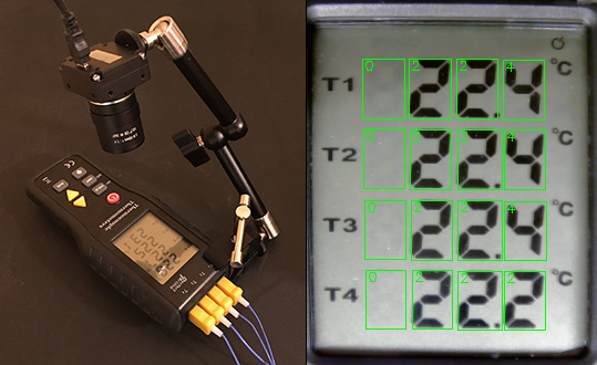 Dumb thermometer gets digital output | Kurokesu blog