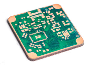 Making fine pitch PCB prototypes with fiber laser