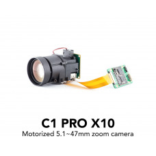 C1 PRO camera with 10x motorized zoom lens and controller kit