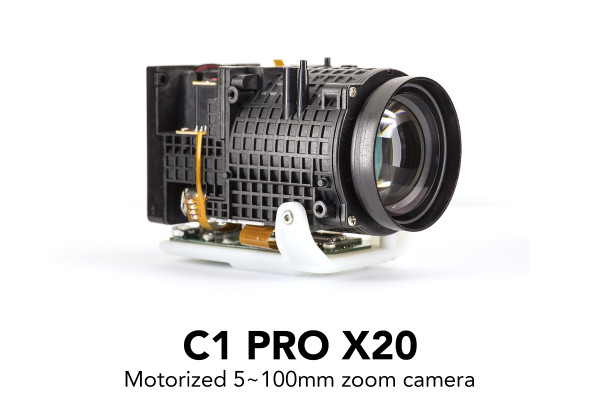 C1 PRO camera with 20x motorized zoom lens and controller kit