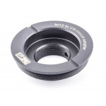 M12 to CS lens adapter