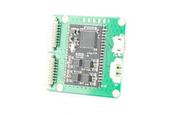 Dual lens stepper motor controller based on SCE2 module