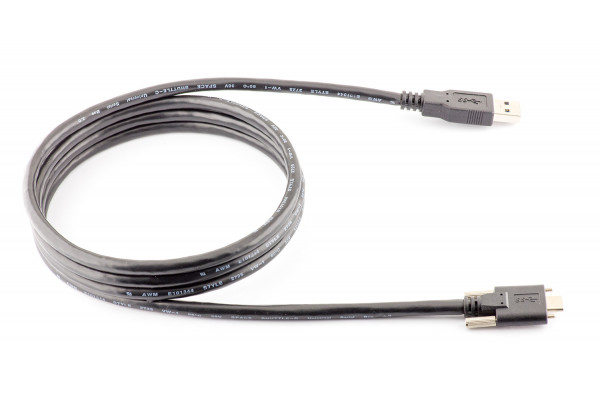USB-C USB cable 1.5m (with lock screws)